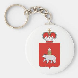 Porte-clés Manteau des bras du krai de Perm