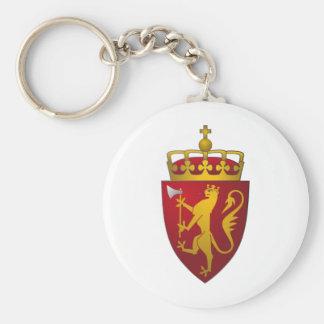 Porte-clés Manteau des bras norvégien