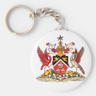 Porte-clés Manteau du Trinidad-et-Tobago de porte - clé de