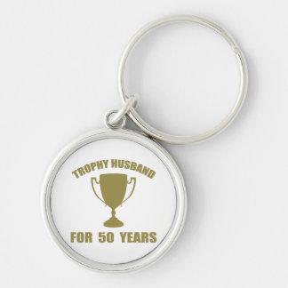 Porte-clés Mari de trophée pendant 50 années