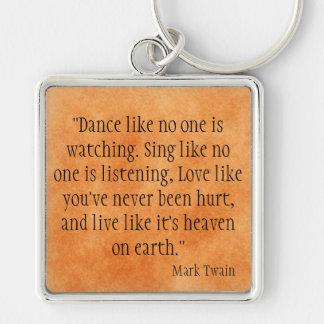 Porte-clés Mark Twain