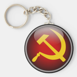 Porte-clés Marteau et faucille russes soviétiques