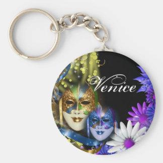 Porte-clés Masques vénitiens de quinceanera de mascarade