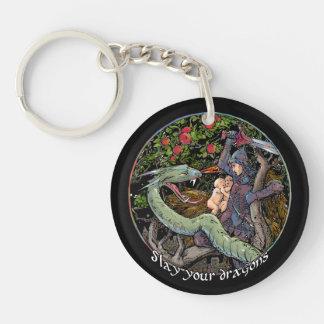 Porte-clés Massacrez votre dragon. La Jordanie Peterson