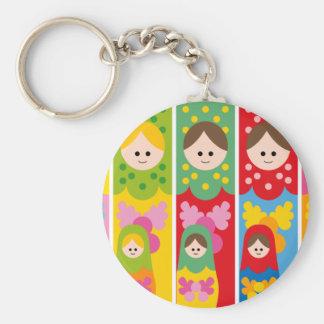 Porte-clés matryoshka mignon