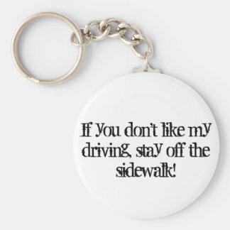 Porte-clés Mauvais porte - clé de conducteur
