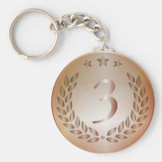 Porte-clés Médaille de bronze