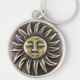 Porte-clés Médaillon de Sun