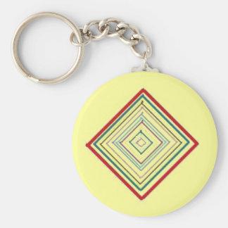 Porte-clés Méditation de mandala - porte - clé