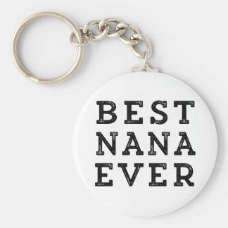 Porte-clés Meilleure Nana jamais