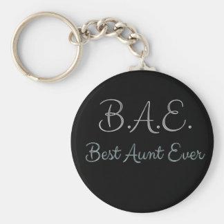 Porte-clés Meilleure tante Ever BAE