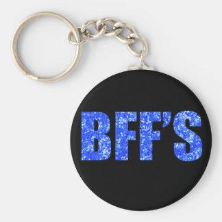 Porte-clés Meilleurs amis bleus