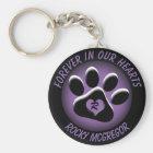 Porte-clés Mémorial fait sur commande d'animal familier avec