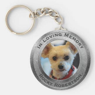 Porte-clés Mémorial personnalisé de chien
