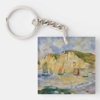 Porte-clés Mer et falaises