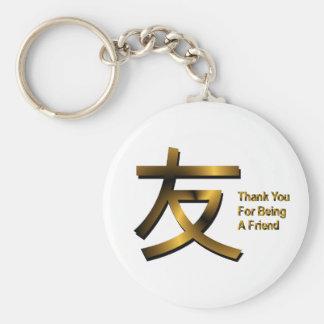 Porte-clés Merci pour être un porte - clé d'ami