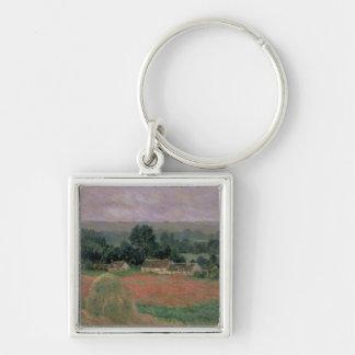 Porte-clés Meule de foin de Claude Monet | chez Giverny, 1886