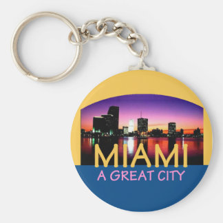 Porte-clés Miami la Floride un grand porte - clé de ville