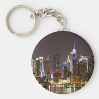 Porte-clés Midtown Manhattan vu du New Jersey de Weehawken