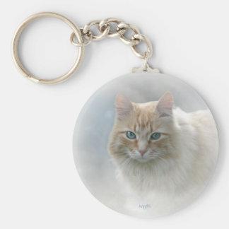Porte-clés Miel lumineux d'ange de © de porte - clé de chat