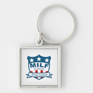 Porte-clés Milf d'association de l'Amérique