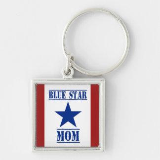 Porte-clés Militaires de maman d'étoile bleue