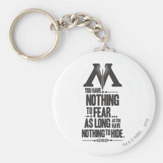 Porte-clés Ministère du charme | de Harry Potter de la
