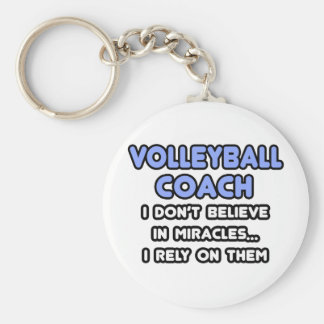 Porte-clés Miracles et entraîneurs de volleyball