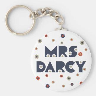 Porte-clés Mme Darcy Keychain