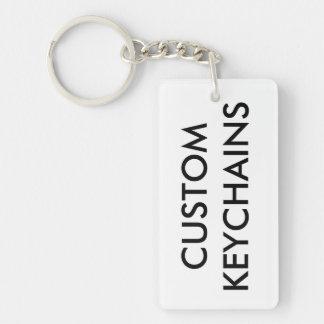 Porte-clés Modèle de blanc de porte - clé personnalisé par