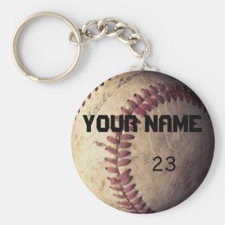 Porte-clés modèle de porte - clé de base-ball