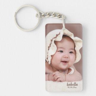 Porte-clés Modèle photo doux de bébé