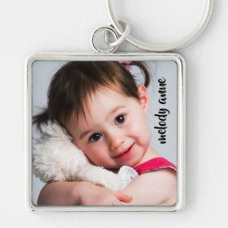 Porte-clés Modèle photo doux de bébé/enfant