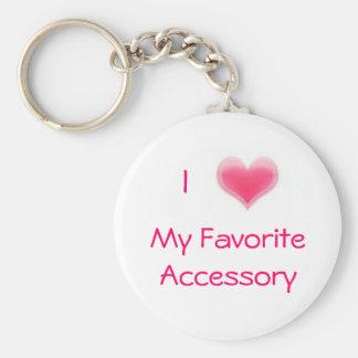 Porte-clés Mon accessoire préféré
