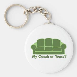 Porte-clés Mon divan ou vôtre ?