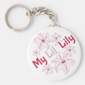 Porte-clés Mon lis de Lil