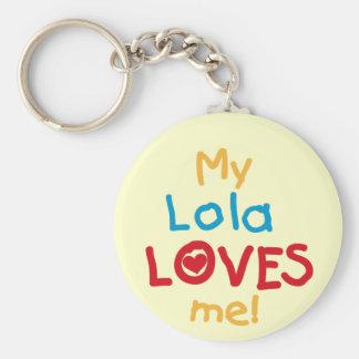 Porte-clés Mon Lola m'aime T-shirts et cadeaux