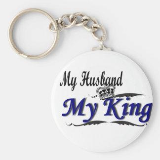 Porte-clés Mon mari, mon Roi Keychain