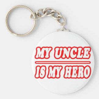 Porte-clés Mon oncle Is My Hero