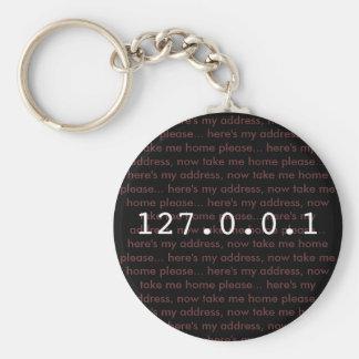 Porte-clés mon porte - clé d'adresse