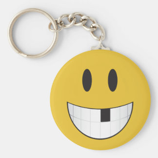 Porte-clés Mon premier emoji absent de dent