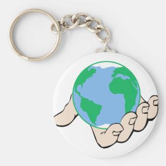 Porte-clés Monde à disposition