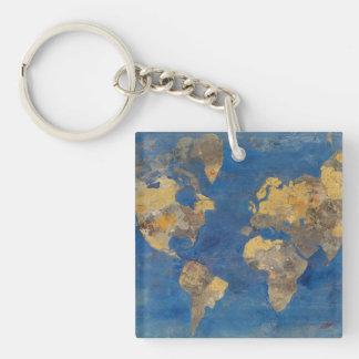 Porte-clés Monde d'or