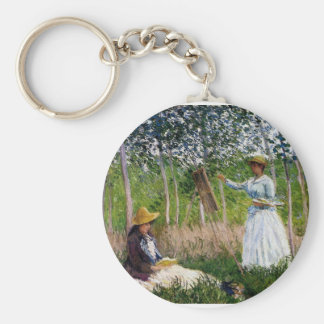 Porte-clés Monet dans les bois