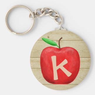 Porte-clés Monogramme rouge d'Apple