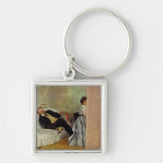 Porte-clés Monsieur et Madame Edouard Manet d'Edgar Degas |