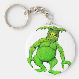 Porte-clés Monstre vert de Slimey