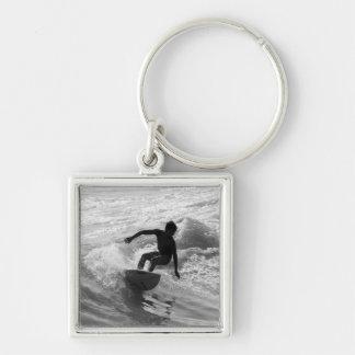 Porte-clés Monte de la gamme de gris de vague