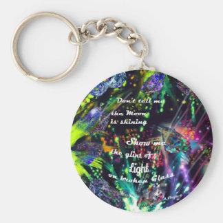Porte-clés Montrez-moi une lumière différente