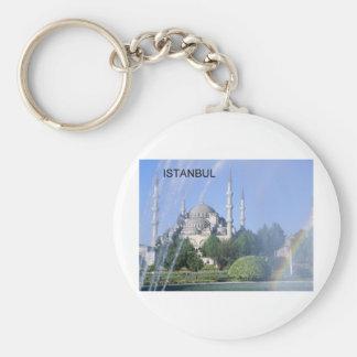 Porte-clés Mosquée bleue de la Turquie Istanbul (St.K)